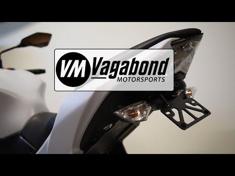 Kawasaki Z650 & Ninja 650 (2017+) Fender Eliminator Installation - Vagabond Motorsports VM-KZ610