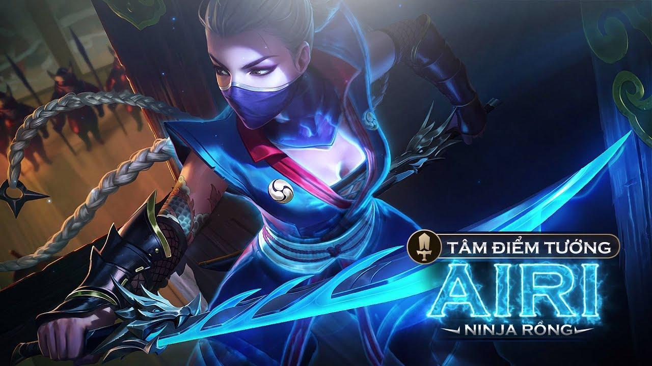 Garena Rov New Hero Airi Gameplay | Garena Lien Quan Mobile