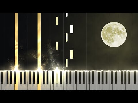 Moonlight Sonata 1st Movement - Opus 27 No. 2 [Piano Tutorial] (Synthesia)