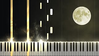 Скачать Moonlight Sonata 1st Movement Opus 27 No 2 Piano Tutorial Synthesia