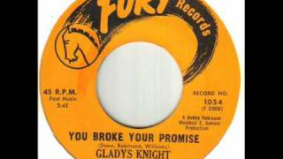Gladys Knight & The Pips - You Broke Your Promise.wmv