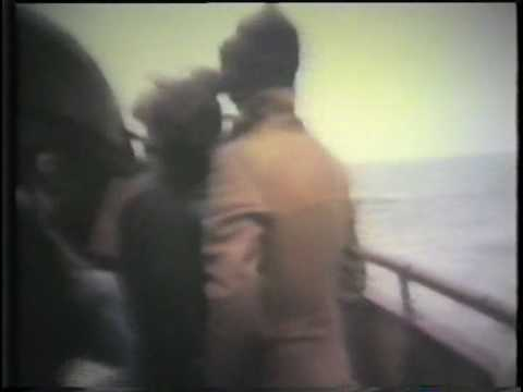 Archive cine film of Radio Caroline and Radio North Sea International