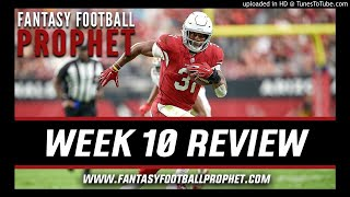 NFL Week 10 Review - Fantasy Football Reaction