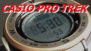 CASIO PRO TREK 日本自然保護協会コラボモデル PRG-330GE-5JR
