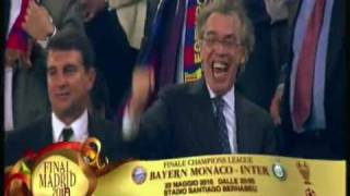 Champions League 2010: Barcellona - Inter 1-0 (1-3) - Si va a Madrid in Finale!