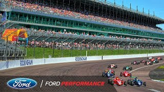 Rockingham Race Highlights  | F4 British Championship | Ford Performance