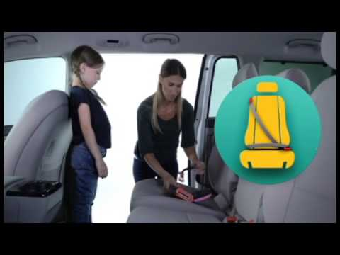 Booster Silla Auto Coche Para Niños MiFold Morph