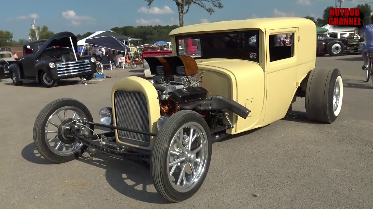 1929 cadillac hot rod at the 2017 redneck rumble youtube. Black Bedroom Furniture Sets. Home Design Ideas