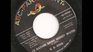 Watch Bb King Id Rather Drink Muddy Water video