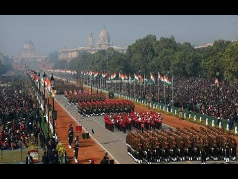 HELL MARCH _ Indian Army [ 68th Republic Day Parade 2017 ]