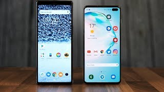 Samsung Galaxy S10+ vs Sony Xperia 1 - ТЕСТ СКОРОСТИ!! Кто САМЫЙ БЫСТРЫЙ Android??