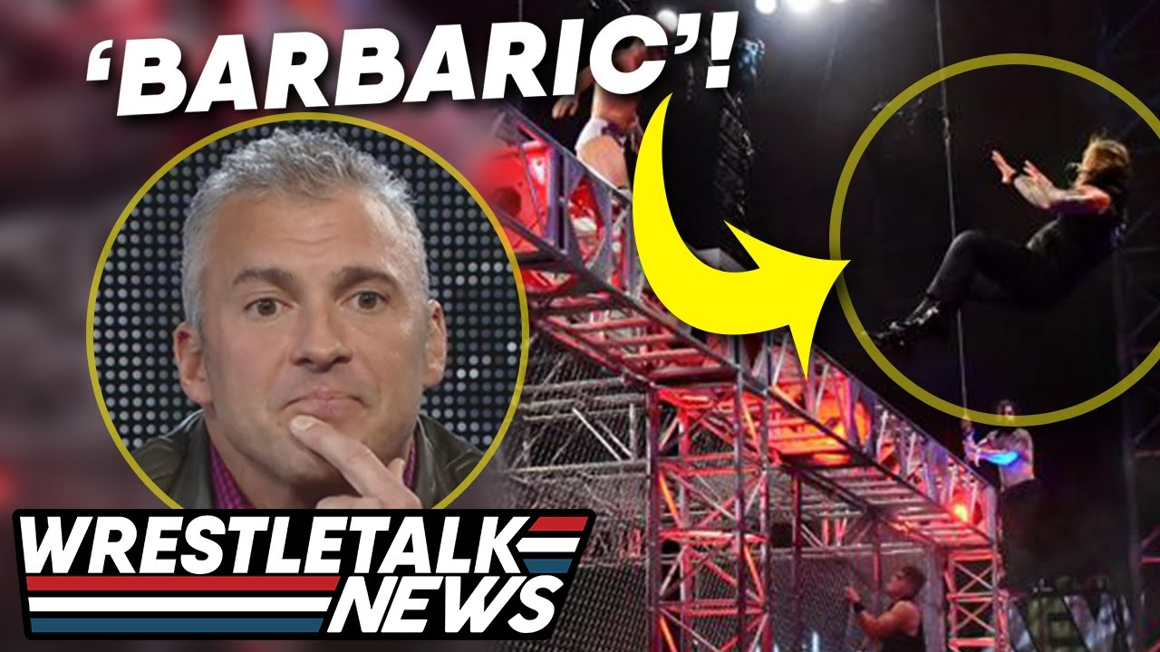 WWE: AEW Blood And Guts 'Bad Image' For Wrestling! 6 STAR MATCH RATING!   WrestleTalk