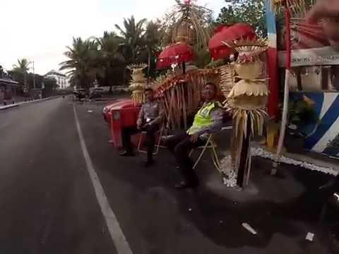 Bali police stopped my son & girlfriend.