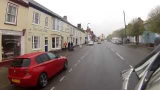 A Ride Through South Molton in Devon