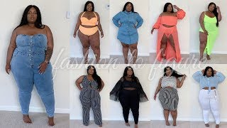 WOAH THERE! Fashion To Figure Try-On Haul | Plus Size - Curve