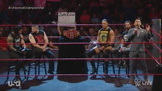 Seth Rollins, Kevin Owens, Big Cass and Roman Reigns cut their promo for tonight's match