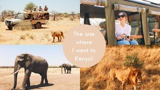 VLOG! The One Where I Went To Kenya | What Olivia Did