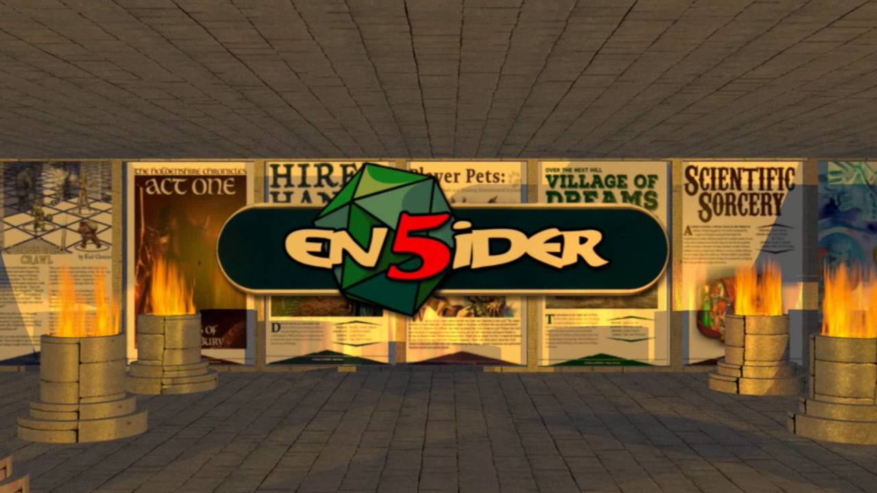 EN World EN5ider is creating 5th Edition supplements and adventures