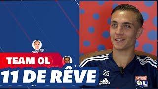 Le 11 de rêve de Maxence Caqueret  | Olympique Lyonnais