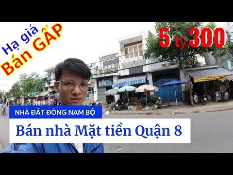 Video nhà bán Mặt tiền Quận 8, đường Phạm Thế Hiển P6 Q8. Vị trí đẹp sầm uất tiện kinh doanh buôn bán