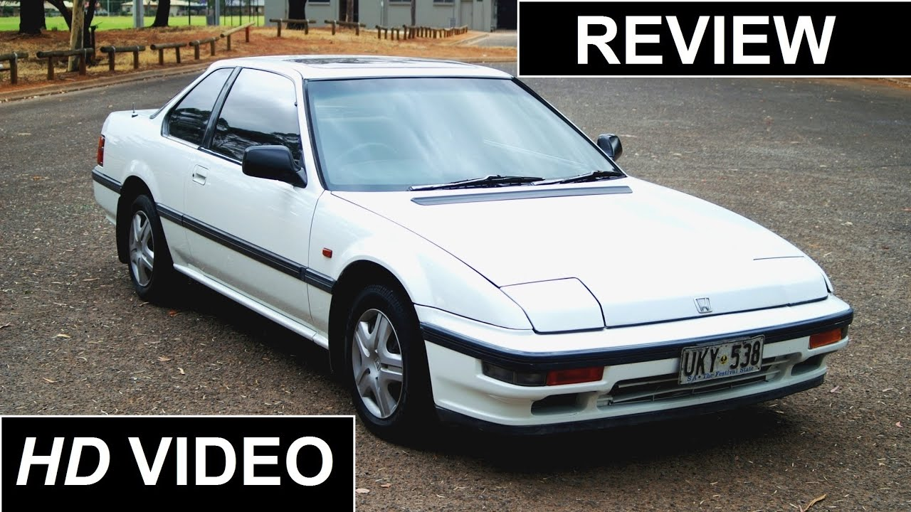 1988 Honda Prelude 4WS Review - YouTube