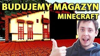 Minecraft Po Polsku Survival na Modach | BUDUJEMY OGROMNY MAGAZYN