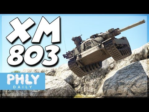 The Forgotten Main Battle Tank (War Thunder XM803 Tank Gameplay)