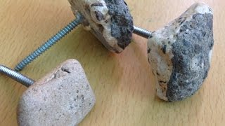 Make Cool Stone Drawer Knobs - Home - Guidecentral