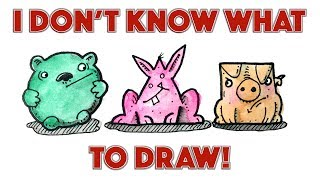 I Don't Know What to Draw! // Inspirational