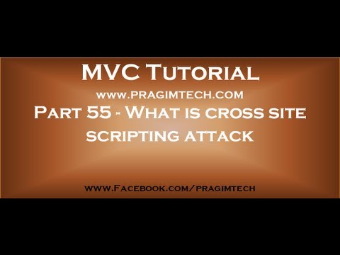 Part 55   What Is Cross Site Scripting Attack