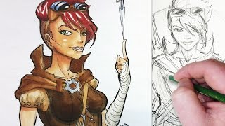 Character Design Session: Medieval Steampunk Rogue!