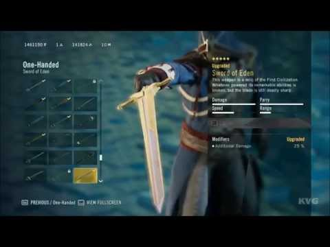Assassin's Creed: Unity - All One-Handed Weapons (PC HD) [1080p]
