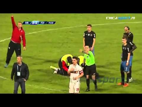 ШОК!!! ФУТБОЛИСТ УМЕР НА ПОЛЕ 2016 ( РУМУНИЯ)   SОCK!!! FOOTBALLER DIED IN THE FIELD 2016 (ROMANIA)