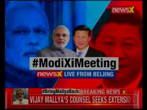 PM Modi meets President Xi Jinping in Wuhan, China