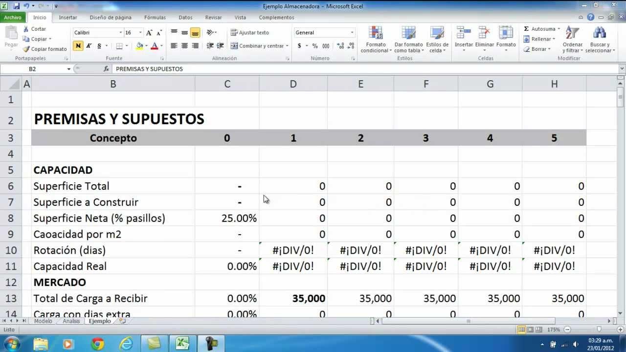 Proyecciones Financieras - YouTube