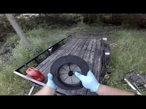 How to clean a Dirt Bike Air Filter.