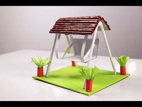 DIY Swing | How to make a swing out of paper | Newspaper craft