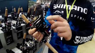 видео катушка shimano