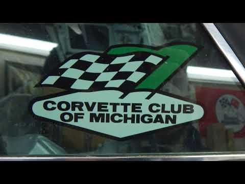 1966 Corvette Race Car, Untouched From 1960s