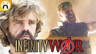 Thor New Weapon & Peter Dinklage Character Revealed | Avengers Infinity War