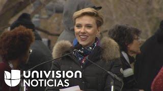 """Scarlett Johansson a Donald Trump: """"Mi hija no podrá tomar las mismas decisiones que Ivanka si pudo"""""""