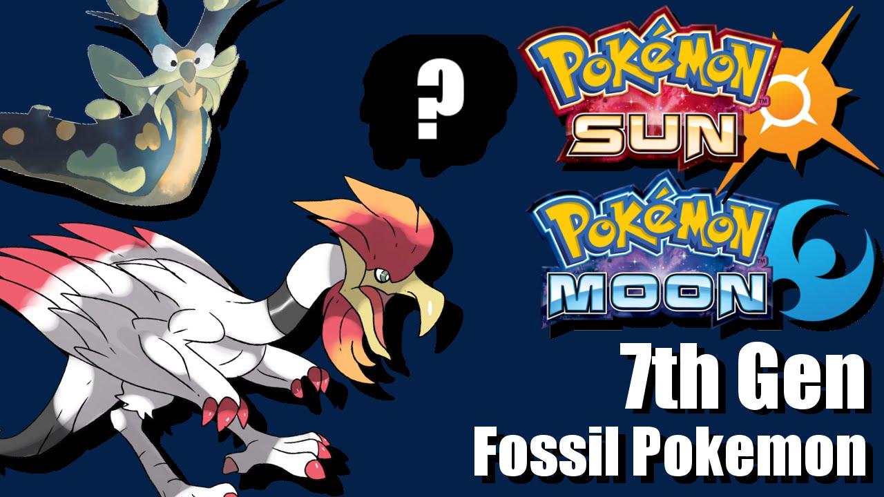 New 7th Gen Fossil Pokemon Pokemon Sun And Moon Predictions Youtube