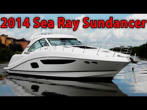 2014 Sea Ray 510 Sundancer yacht tour!