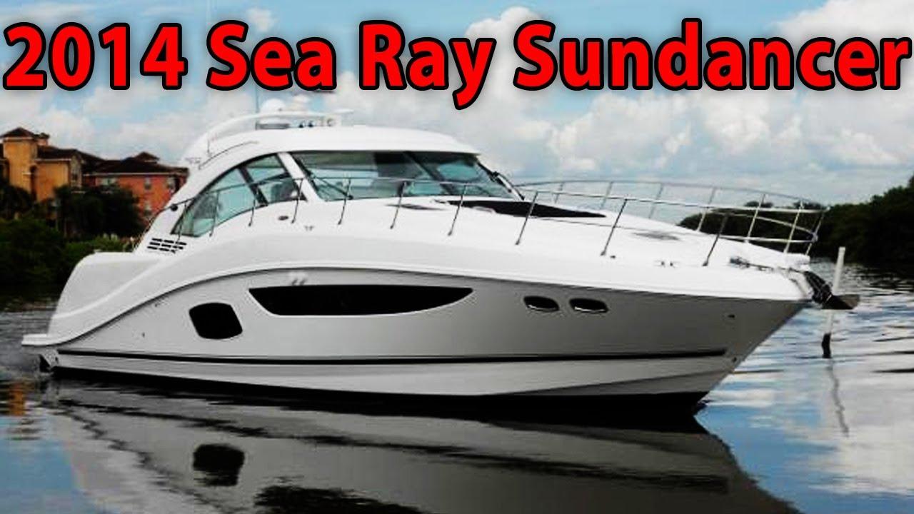2014 Sea Ray 510 Sundancer Yacht Tour