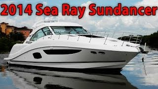 2014 Sea Ray 510 Sundancer yacht tour!