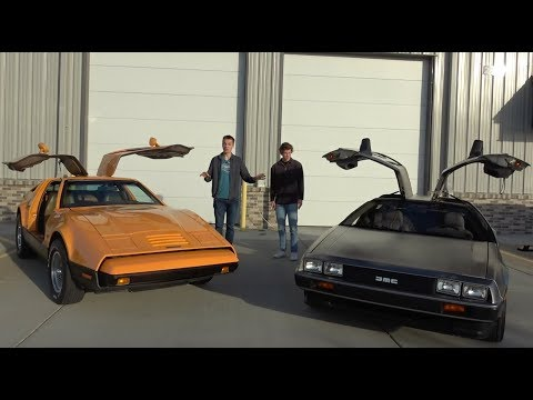 Bricklin vs. Delorean: The Drag Race that Nobody Asked For