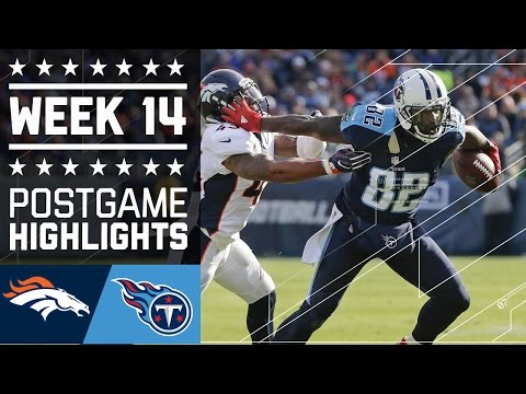 Broncos vs. Titans | NFL Week 14 Game Highlights