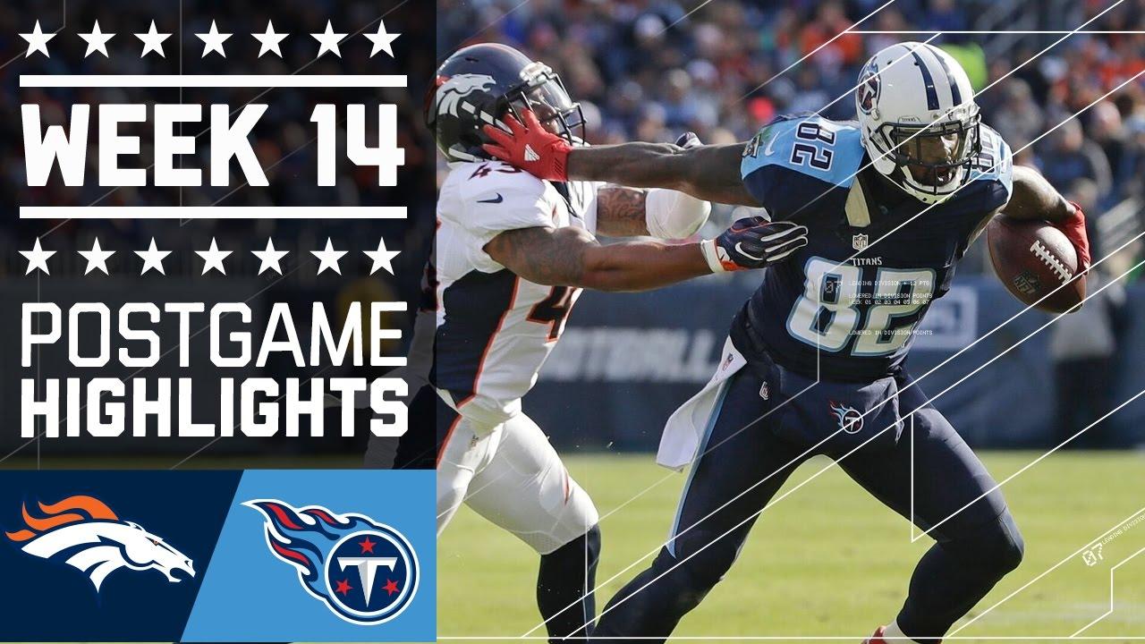 23988cf5 Broncos vs. Titans | NFL Week 14 Game Highlights