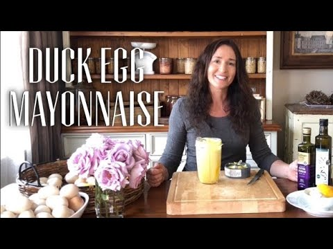DUCK EGG MAYONNAISE - Traditional Recipe