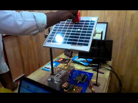Solar Tracking -PLC Projects in Chennai( Wiztech)